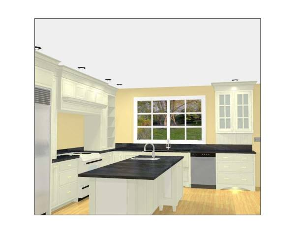 Sketchup Kitchen Aid Cabinets